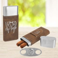 Personalized Gift Cigar Case