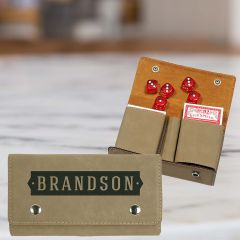 Personalized Card And Dice Gift Set