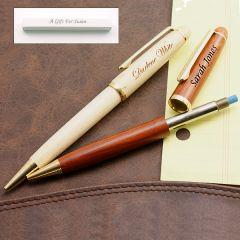 Maple (light) or Rosewood (dark) Pencil