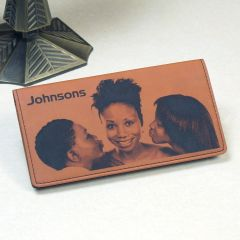 Photo Checkbook Cover