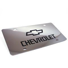 Chrome License Plate