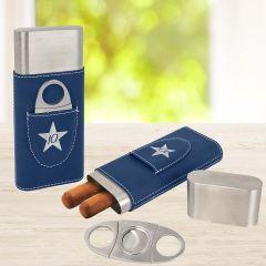 Engraved Cigar Case