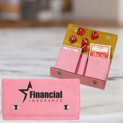 Engraved Cards And Dice Gift Set