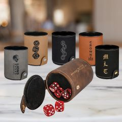 Personalized Dice Game Cup Set