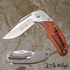Elk Ridge Folding Lock-Blade Pocket Knife