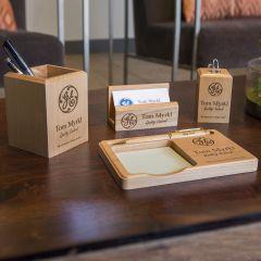 Maple Desk Set