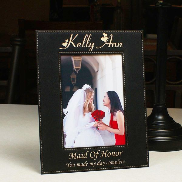 Will you be my Maid of Honor Will you be my Maid of Honor Gift Will you be my Maid of Honor Picture Frame Personalized 4x6